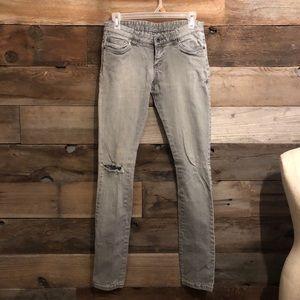 Hurley super skinny long Grey jeans